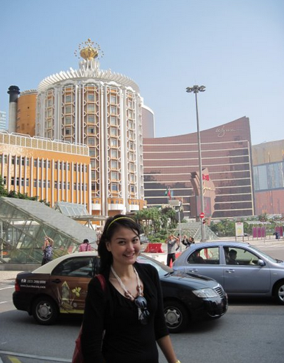 Cantiknya area sekitar Hotel Wynn Macau
