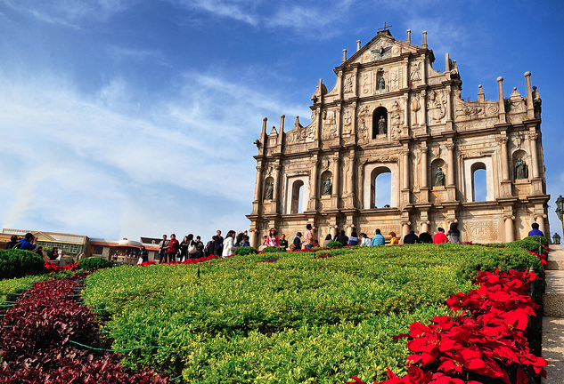 Landmark paling terkenal dari Macau, Ruin of St. Paul's