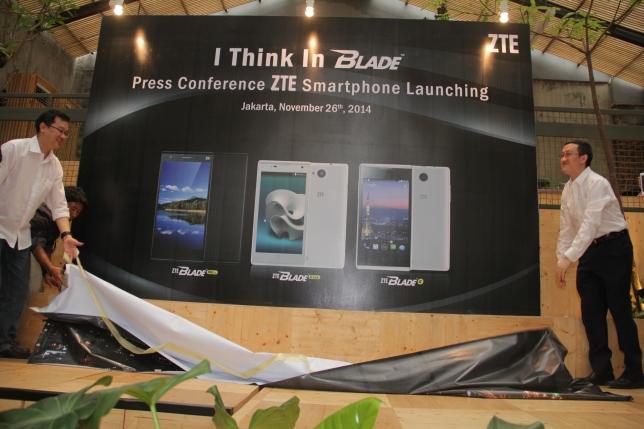 ZTE Corporation memperkenalkan Blade Series